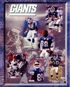 Giants 1999 New York Team 8X10 Photo