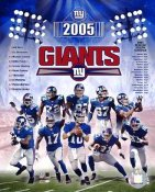 Giants 2005 New York Team 8X10 Photo