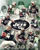 Jets 2001 New York Team 8X10 Photo