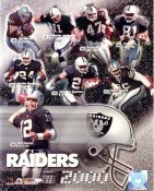 Raiders 2000 Oakland Team 8X10
