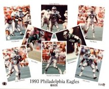 Eagles 1993 Philadelphia Team 8x10 Photo  LIMITED STOCK -