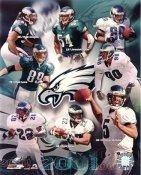 Eagles 2001 Philadelphia Team 8x10 Photo