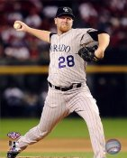 Aaron Cook Colorado Rockies 8X10 Photo