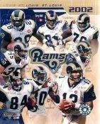 Rams 2002 St. Louis Team 8X10 Photo