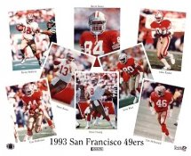 49ers 1993 San Francisco Team 8X10 Photo LIMITED STOCK -