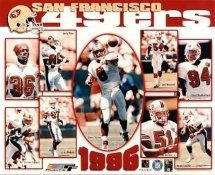 49ers 1996 San Francisco Team 8X10 Photo