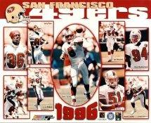 49ers 1996 San Francisco Team 8X10 Photo