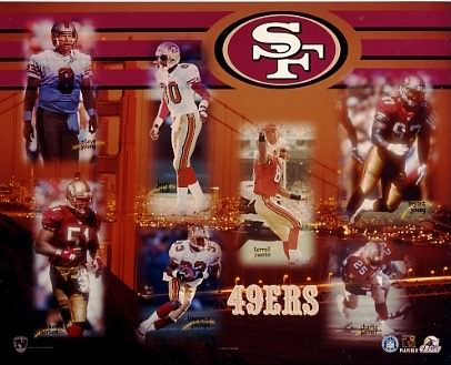 49ers 1999 San Francisco Team 8X10 Photo