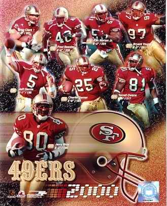 49ers 2000 San Francisco Team 8X10 Photo