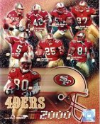 49ers 2000 San Francisco Team 8X10 Photo