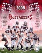 Buccaneers 2005 Tampa Bay Team 8x10 Photo