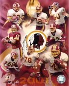 Redskins 2001 Washington Team 8X10 Photo