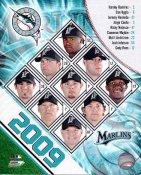 Marlins 2009 Florida Team Composite 8x10 Photo