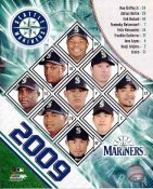 Mariners 2009 Seattle Team Composite 8x10 Photo
