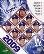 Dodgers 2009 LA Team Composite 8x10 Photo
