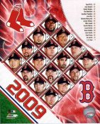 Boston 2009 Red Sox Team Composite 8x10 Photo