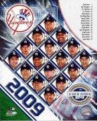 Yankees 2009 New York Team Composite Photo 8X10 Photo