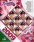 Braves 2009 Atlanta Team Composite 8X10 Photo