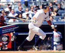 Johnny Damon 4-16-09 1st Hit LIMITED STOCK New Yankee Stadium 8X10 Photo