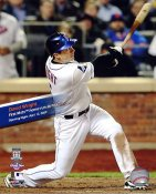 David Wright 1st Home Run at Citi Field 4-13-09 LIMITED STOCK NY Mets 8X10 Photo