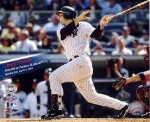 Jorge Posada 1st Home Run Opening Day New Yankee Stadium 4-16-09 8X10 Photo  LIMITED STOCK -