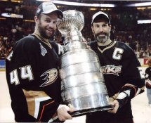 Scott Niedermayer & Rob Niedermayer Ducks G2 LIMITED STOCK RARE 8X10 Photo