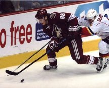 Peter Mueller Coyotes G2 LIMITED STOCK RARE 8X10 Photo