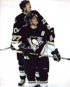 Sidney Crosby & Colby Armstrong Penguins G2 LIMITED STOCK RARE 8X10 Photo