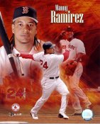 Manny Ramirez Boston Red Sox 8x10 Photo