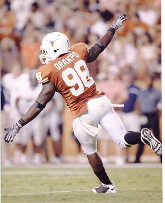 Brian Orakpo Texas 8X10 Photo