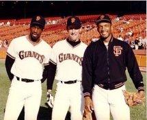 Chris Brown, Will Clark, Chili Davis G1 Limited Stock Rare 8X10 Photo