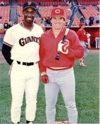 Chili Davis & Pete Rose G1 Limited Stock Rare Giants 8X10 Photo