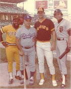 Tommy Lasorda, Bill Madlock, Darrell Evans, Terry Kennedy G1 Limited Stock Rare  8X10 Photo