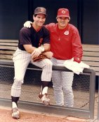 Steve Garvey & Pete Rose G1 Limited Stock Rare Padres 8X10 Photo