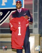 Michael Crabtree LIMITED STOCK 2009 Draft Day San Francisco 49ers 8X10 Photo