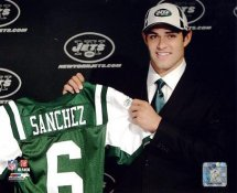 Mark Sanchez LIMITED STOCK 2009 Draft Day New York Jets 8X10 Photo