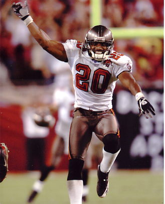 Ronde Barber Tamp Bay Bucs 8X10 Photo