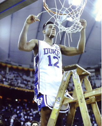 Thomas Hill Duke BlueDevils 8X10 Photo LIMITED STOCK