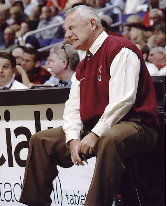 Dick Bennett Wisconsin Badgers Coach 8X10 Photo LIMITED STOCK