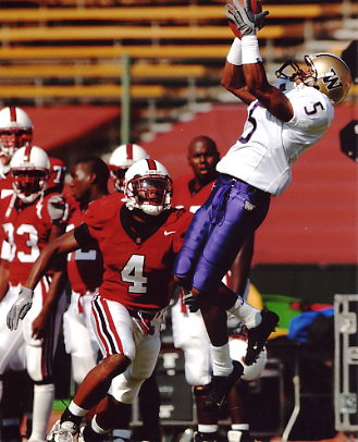 Mario Bailey Washington Huskies 8X10 Photo