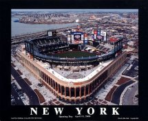 A1 Citi Field Stadium Aerial NY Mets 2009 Opening Day Game  8X10 Photo