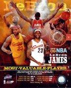 Lebron James 2009 MVP Cleveland Cavaliers 8X10 Photo LIMITED STOCK