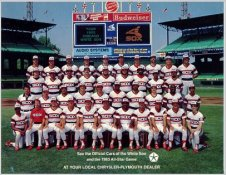 Chicago 1983 White Sox Team Limited Stock Rare  8.5X11 Photo