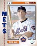 David Wright 2006 Studio NY Mets 8X10 Photo