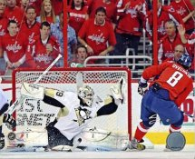 Marc-Andre Fleury vs Alex Ovechkin 2009 Playoffs LIMITED STOCK Pittsburgh Penguins 8x10 Photo