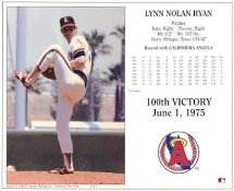 Nolan Ryan G1 Limited Stock Rare Cardboard Stock Angels 8X10 Photo