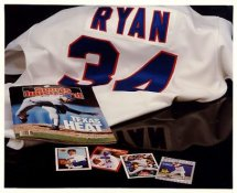 Nolan Ryan G1 Limited Stock Rare Cardboard Stock Rangers 8X10 Photo