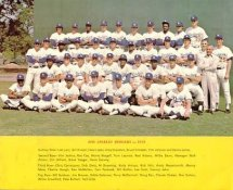 Los Angeles Dodgers 1973 G1 Limited Stock Rare Dodgers Original 8X10 Photo