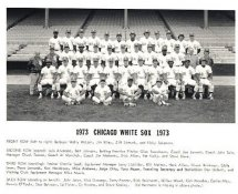 Chicago White Sox 1973 G1 Limited Stock Rare White Sox 8X10 Photo