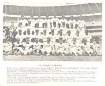 Atlanta Braves 1969 G1 Limited Stock Rare Braves 8X10 Photo